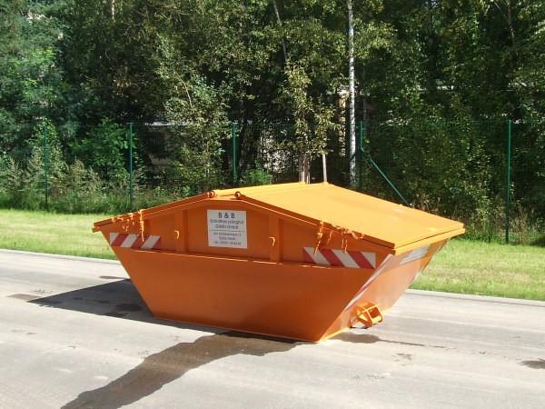 abholung von schrott schutt und abf llen mit container transporter ladekrankipper schrott. Black Bedroom Furniture Sets. Home Design Ideas